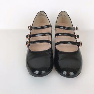 Ruby & Bloom |  Girls Black Patent Heels